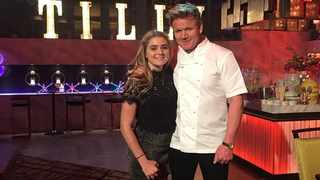 Tilly and Gordon Ramsay. Picture: Instagram