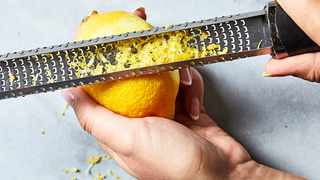 A rasp-style grater is an ideal tool for when you want a very fine texture of an ingredient like a citrus zest but it also has other less-obvious uses like smoothing off the edges of cakes. MUST CREDIT: Photo for The Washington Post by Stacy Zarin Goldberg