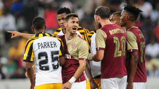How Stellenbosch FC respond after being mauled 4-0 by Kaizer Chiefs will go a long way in determining whether they survive their first season in the Premiership. Photo: Ryan Wilkisky/BackpagePix