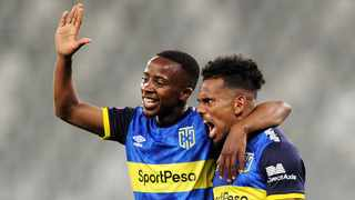 Kermit Erasmus was Cape Town City's best player in their goalless draw with Highlands Park at Cape Town Stadium. Photo: Ryan Wilkisky/BackpagePix