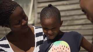 In 2012 while playing outside her home in Gugulethu, Cape Town, 3-year-old Cwenga Malamba was hit by a stray bullet which resulted in her losing an eye. Picture: Screengrab