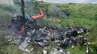 A pilot died after a light aircraft crashed in Eshowe.  Picture: IPSS Medical Rescue