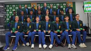 South Africa's Under-19 side spent much of their time at a recent camp working on bridging the gap between being schoolboy players and professionals. Photo: @OfficialCSA via Twitter