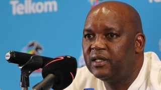 There is never a lack of quotes and soundbites whenever Mosimane meets the media. Photo: Samuel Shivambu/BackpagePix