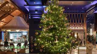A $15 million (R210m) jewel-bedecked Christmas tree at the Kempinski Hotel Bahia in Estepona has taken the title of the world's most expensive tree. Image: www.kempinski.com