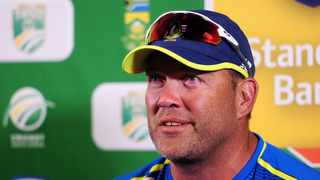 Proteas batting consultant Jacques Kallis speaks to the media at the end of play on day four of the second Test against England at Newlands on Monday. Photo: Ryan Wilkisky/BackpagePix
