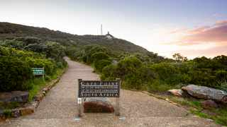 The Cape of Good Hope trail at Cape Point Nature Reserve leads you to the famous Cape of Good Hope sign. Picture: Supplied.