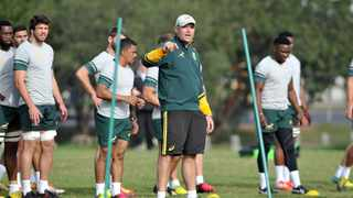 The Sharks will have more bite on defence in Super Rugby this year thanks to invaluable input from Jacques Nienaber, the Springbok defence coach at the World Cup and the expected successor to outgoing Bok coach Rassie Erasmus. Photo: Luigi Bennett/BackpagePix