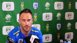 South Africa captain Faf du Plessis will hope to finally win a toss that could be more crucial than most when his side host England in the third test of their four-match series starting on Thursday. Photo: Ryan Wilkisky/BackpagePix