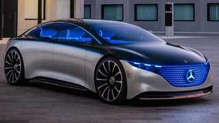 Mercedes-Benz is being hamstrung by the development costs associated with developing electric cars. Seen here is the EQS concept, which points the way to a future electric flagship.