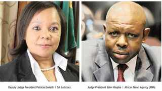 The Judicial Service Commission to investigate allegations by Western Cape deputy judge president Patricia Goliath against her boss, President John Hlophe. Pictures: SA Judiciary and African News Agency