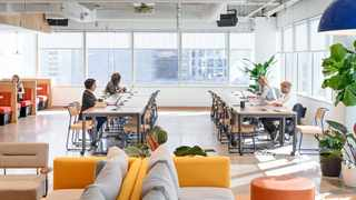 WeWork, a shared workspaces company that was founded in 2010 officially launched its third South African location in Cape Town. Photo: WeWork