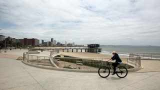 The Durban Promenade is officially the longest in sub-Saharan Africa. Picture: Motshwari Mofokeng/African News Agency (ANA)