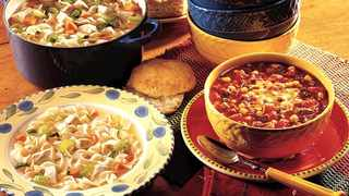 Soups are one of the ultimate comfort meals. Picture: Supplied