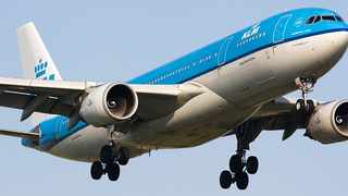 KLM apologises after airliner crew's coronavirus toilet note sparks outrage in South Korea. Picture: KLM.
