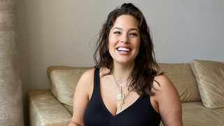 Ashley Graham gave birth four weeks ago. Picture: Instagram