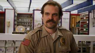 """David Harbour in """"Stranger Things"""". Picture: Netflix"""