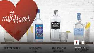 One of the fabulous prizes in IOL's #MyHeart competition is a hamper of Truman & Orange's Extraordinary and Fabulous Gin Collection valued at R1 329.