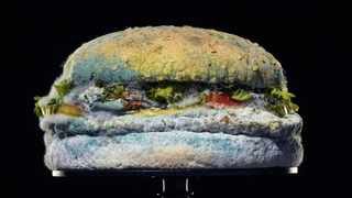 Burger King is taking a bold approach to market its decision to remove artificial preservatives from its iconic menu item. Picture: Supplied