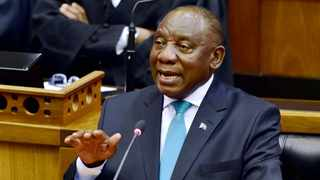President Cyril Ramaphosa replying to the Debate on the State of the Nation Address in Parliament in Cape Town. Picture: Elmond Jiyane / GCIS