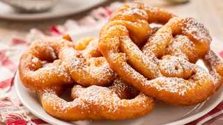 Funnel cake with powdered sugar. Picture: Supplied