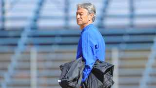 Muhsin Ertugral shares with IOL Sports Minenhle Mkhize what to expect in tomorrow's Soweto Derby.  Photo: Sydney Mahlangu/BackpagePix