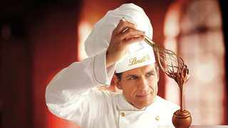 The Lindt chef just might be the ideal man. Picture: Courtesy Lindt Chocolate