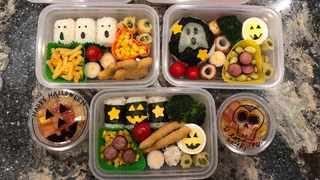 A California based mom has gone viral after sharing her bento box masterpieces on Twitter last month. Picture from Twitter.