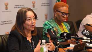 Ministers of Public Works and Infrastructure Patricia de Lille and Minister of Social Development Lindiwe Zulu hosted a joint press conference announcing the latest initiatives to address Gender-Based Violence at the Imbizo Media Centre in Parliament.