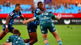 Bulls' Warrick Gelant runs with the ball during their Super Rugby game against the Highlanders at Loftus Versveld in Pretoria on Saturday. Photo: BackpagePix