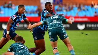 The Bulls' Warrick Gelant runs with the ball during their Super Rugby game against the Highlanders at Loftus Versveld in Pretoria. Photo: BackpagePix