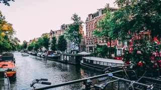 Amsterdam is a popular solo travel destination. Photo by Liam Gant from Pexels.