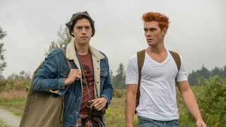 """Cole Sprouse and K.J. Apa in """"Riverdale"""". Picture: Th CW"""