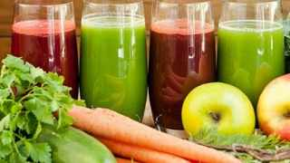 Drinking juice is a good way to put in a few extra fruits and vegetables into your diet. Picture: Supplied