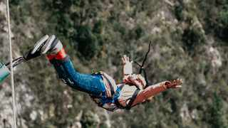 Despite the 200 metre drop, adrenaline fanatics will have stunning views of the Bloukrans River valley. Picture: Sharyn Hodges.