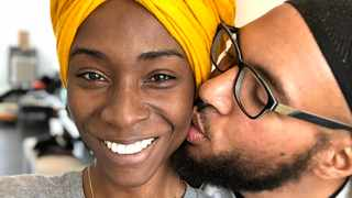Angelica Ross and her ex-boyfriend. Picture: Twitter