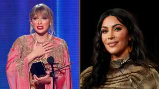 Taylor Swift and Kim Kardashian West. Picture: Reuters