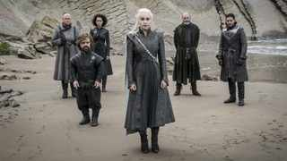 "The cast in the critically-acclaimed fantasy hit series, ""Game of Thrones"". Picture: HBO"