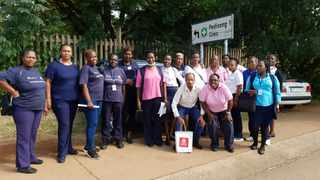 Health fieldworkers in Ga-Rankuwa call on government  to help supply them with protective gear to keep safe from the Covid-19 pandemic. Picture: Goitsemang Tlhabye