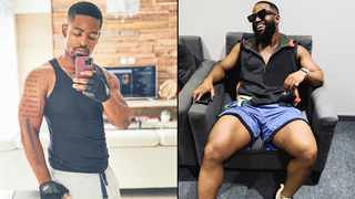 Prince Kaybee and Cassper Nyovest. Picture: Instagram