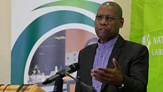 Minister of Health Dr Zweli Mkhize launched 67 Covid-19 mobile testing and sampling units in Modderfontein, Sandringham, Johannesburg. Picture: Simphiwe Mbokazi/African News Agency (ANA)