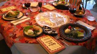 This year, it won't be Passover as usual. Few people will host large gatherings for Seders, instead creating smaller, more intimate celebrations with just immediate family. PICTURE: Creative Commons