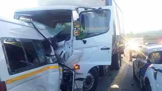 The accident happened between Mount Ayliff and Mount Frere in the Eastern Cape at abput 16:30, where 11 commuters of the minibus taxi died while two occupants of the truck sustained serious injuries.