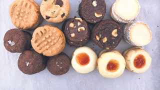 Three-ingredient cookies maximize downsized ingredient lists to deliver the same sweet satisfaction without the supplies of an expansive baker's pantry. Picture: Daniela Galarza/The New York Times