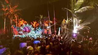 Hundreds of travellers were stranded at the Tribal Gathering Festival in Panama. Picture: Tribal Gathering website.
