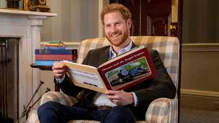 The Duke of Sussex has filmed a special introduction for 'Thomas & Friends: The Royal Engine'. Picture: YouTube.com