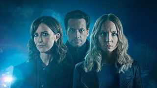 """Shelley Conn as DI Vanessa Harmon, Ioan Gruffudd as Andrew Earlham with Joanne Froggatt as Laura Nielson in the psychological thriller, """"Liar"""".  Picture: Supplied"""