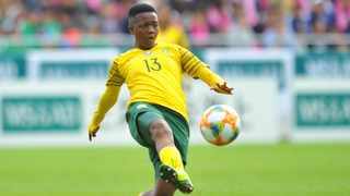 After spending a large chunk of her football career in the Sasol Women's League with Bloemfontein Celtic Ladies, Mbane finally made her long-awaited move to Europe early this year, joining Belarusian Women's Premier League side Dinamo Mins Photo: Sydney Mahlangu/ BackpagePix