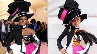We can't tell which one is Janelle Monáe because baby girl nailed it. Picture: Instagram.
