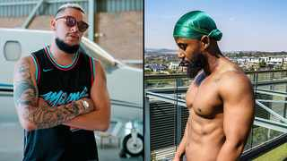 Rappers AKA and Cassper Nyovest. Picture: Instagram